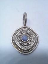 Stylish Pendant With Centered Gem Stone - $12.60
