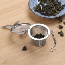 Tea Infuser Ball Mesh Loose Leaf Herb Strainer Stainless Steel Secure Lo... - $9.99
