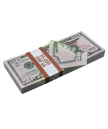 $5,000 New Series Full Print Prop Money Stack - $14.99