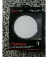 Blackweb 7.5W & 10W Fast Wireless Qi Enabled Charging Pad for iPhone, Sa... - $10.89