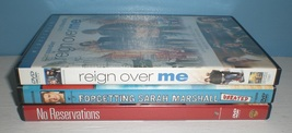 3 dvd lot - Reign Over Me, Forgetting Sarah Marshall & No Reservations - $3.97