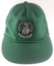 Goose Pond Gotha Florida FL Green Embroidered Snapback Cap Hat - $24.99