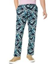 Club Room Men's Regular-Fit Stretch Palm-Print Pants - $30.00+