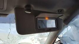 14 15 16 17 18 Infiniti Q50 Sun Visor DRIVER/PASSENGER Pair Cloth Gray Oem - $79.46