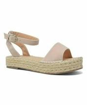 Chase & Chloe, Nude Jenea Platform Sandal - $18.00
