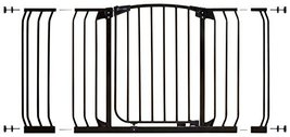 Dreambaby Pressure Mount Hallway Gate with Extensions, Black - $89.99