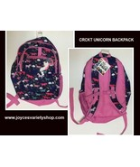 "CRCKT Unicorn Backpack NWT 18"" Pink Multi-Color - $18.99"