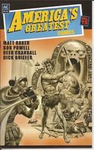 AC Comics America's Greatest Comics #15 Matt Baker Bob Powell Reed Crandall - $9.95