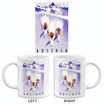 1930's - Austria - Three Skiers - Travel Advertising Mug - $23.99+