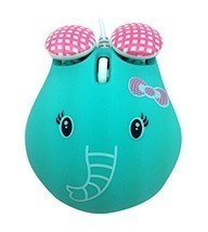 Super Cute Elephant Mouse USB Optical Wired Mouse Girls Exclusive Mouse - $375,80 MXN