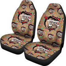 Bulldog Car Seat Covers Pair, 2 Front Car Seat Covers, Seat Cover for Car, Car S - $59.95