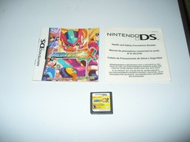 Mega Man ZX (Nintendo DS, 2006) Cartridge and Instruction Booklets - $12.75