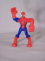 """Huge HULK hands SPIDER-MAN to hang on to something, approx. 3.25"""" tall - $5.96"""