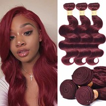 UHair 8A Brazilian Virgin Hair Body Wave 3 Bundles Unprocessed Human Hai... - $51.71