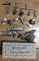 Greist Sewing Machine Rotary Attachments Ruffler,Hemmers,Binder,Tuck,edg... - $24.99