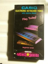 Vintage Casio Electronic Keyboard Video with Johnny Mann Instructional V... - $20.53