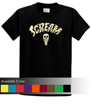 DIE SCREAM Funny Men's T-Shirt Size S-3xl - $19.00