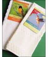 White Estate 16ct Kitchen Towel 16x24 100% cotton FREE CHART Charles Craft - $7.75