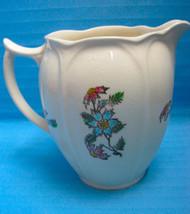 Pitcher Jas. Broadhurst Pottery England Cornflower Design Vintage - $29.95