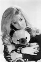 Barbara Fairchild Holding Teddy Bear 24x18 Poster - $23.99