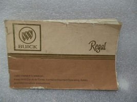 BUICK REGAL     1982 Owners Manual 14721 - $17.77