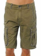 Levi's Men Premium Cotton Cargo Shorts Original Relaxed Fit Green 124630008 image 2
