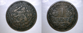 1920 Netherlands 1 Cent World Coin - $7.99