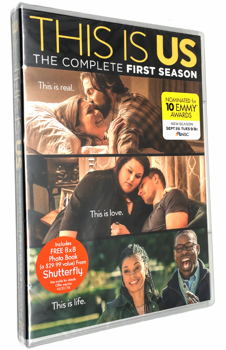This Is Us The Complete First  Season 1 One DVD Box Set 5 Disc Free Shipping