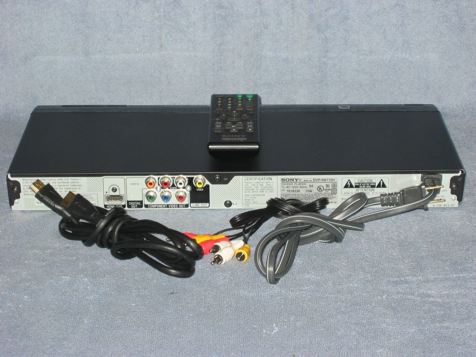 sony dvp ns710h dvd cd player remote and 50 similar items rh bonanza com CD DVD Player CD DVD Player