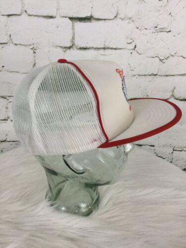Beautiful British Columbia Trucker Hat Cap White Mesh Snapback Vintage