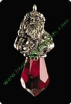 Miniature - Crystal Claus - Hallmark Ornament - $4.95