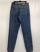 Women calvin klein straight leg slim jeans Sz 12 blue wash - $18.21