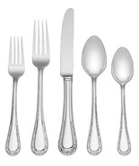 Venetian Lace by Lenox Stainless Steel Flatware Set Service for 8 New 40... - $339.00
