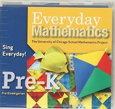 Everyday Mathematics, Grade Pre-K, Sing Everyday! Early Childhood Music CD (Engl