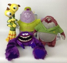 Monsters University Stuffed Plush Lot Terri Squishy Disney Collection New w Tags - $40.05