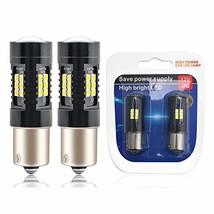 1156 LED Bulbs 2400 Lumens Xenon White Extremely Bright BA15S 7506 1003 1141 107 image 1