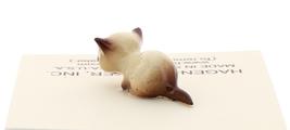 Hagen-Renaker Miniature Cat Figurine Tiny Siamese Kitten Lying Chocolate Point image 3