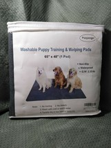 "Peepeego Washable Puppy Training Pad 65"" x 48"" Non-Slip Waterproof - $32.99"
