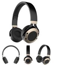JAZZA Active Noise Canceling Wired Headband Headphones - Black&Gold - $39.00