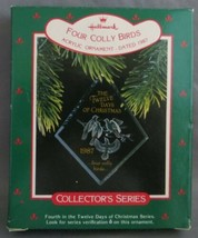 Hallmark Twelve Days of Christmas 1987 #4 in Series with Box Four Colly ... - $12.50