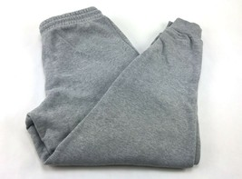 Champion Women's French Terry Track Jogger Pants Size L Lead Charcoal/Gray - $15.67