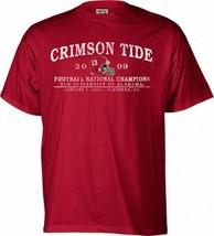 Alabama Crimson Tide 2009 BCS National Champions t-shirt NWT BAMA Roll T... - $15.58