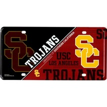 Southern California Trojans USC College NCAA Metal License Plate Made in... - $27.07