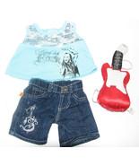 Build-a-Bear Hannah Montana Outfit & Guitar - $15.98