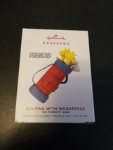 2019 Hallmark Keepsake Limited Edition Peanuts Golfing With Woodstock Or... - $13.86