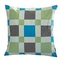 Black Temptation [Dream Blue] Handmade Unique Grid Decorative Pillowcase 48CM - $21.16