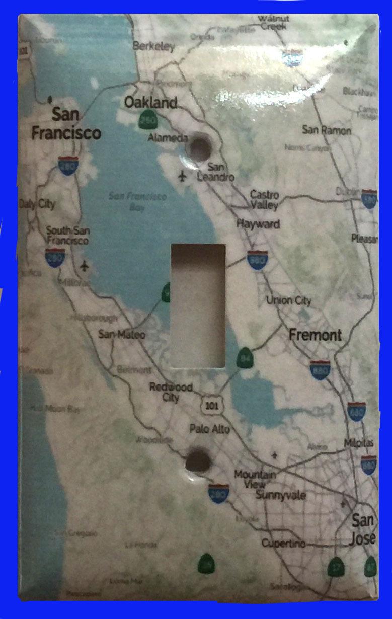 Map sanfrancisco single toggle