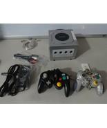 TESTED Nintendo Gamecube Silver Console System W/ Mem Card AV & Power Co... - $69.29