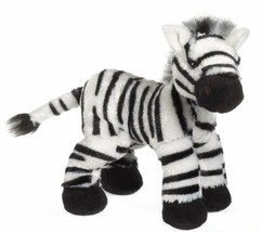 Zebra Ganz Webkinz HM163 Beanbag Plush Stuffed Zoo Wild Animal No Code - $5.34