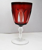 Cristal d'Arques Gothic Ruby Water Goblet - $9.62